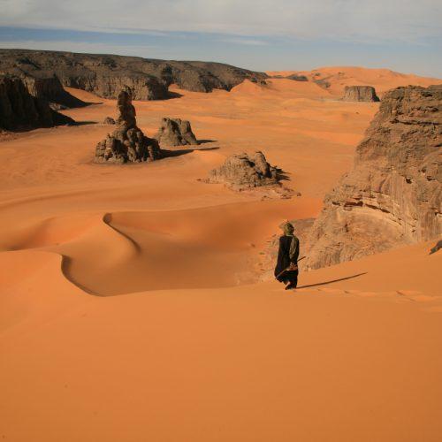 Marche consciente et voyage dans le désert et en Himalaya
