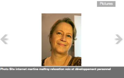 Martine Malfroy Camine: Coach/Thérapeute énergéticienne de la voix
