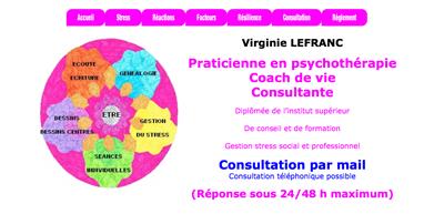 Virginie Lefranc : Praticienne en psychothérapie