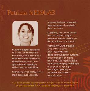 Patricia Nicolas – Oasis Management : Formation & Coaching