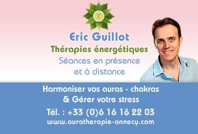 Eric Guillot – Aurathérapie à Annecy – Rhône-Alpes