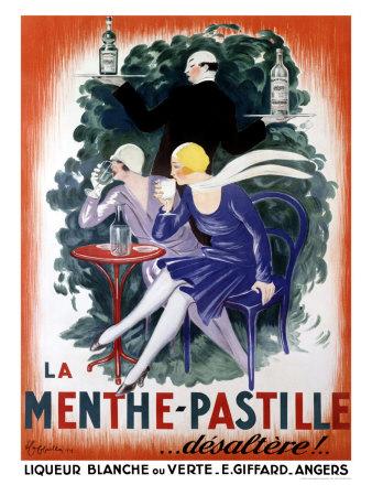 La Menthe-Pastille, une liqueur digestive et thérapeutique