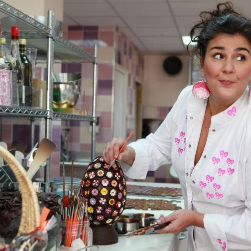 Virginie Duroc-Danner : chocolatière 100% zen