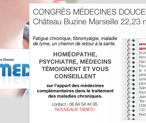 Congrès médecines douces d'apsamed