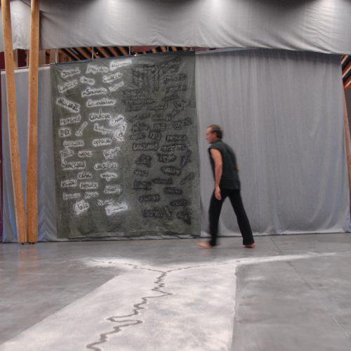 Corps et Graphies du 11 au 17 août 2013 – Arts Plastiques, Mouvement et Traces