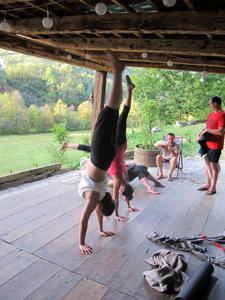 Retraite de yoga en Slovénie avec Laurent Roure