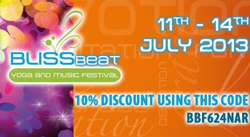 Bliss Beat Festival – Festival Yoga du 11 au 14 juillet – Italie