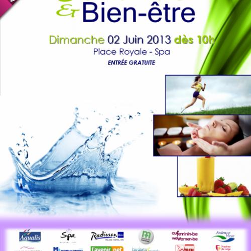 Salon Santé et Bien-être de Spa – 02 juin 2013 – Belgique
