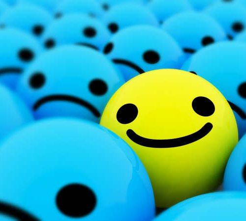 Pensée positive sur le bonheur