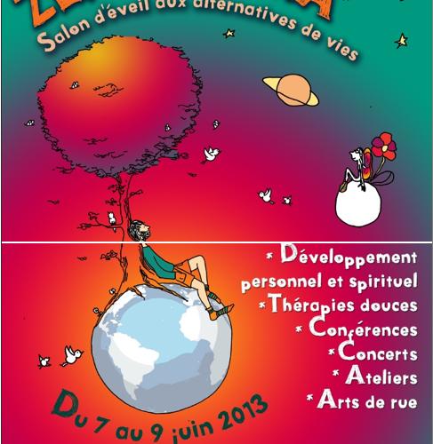 Zen o'terra – Salon d'éveil aux alternatives de vies du 7 au 9 juin – Belgique