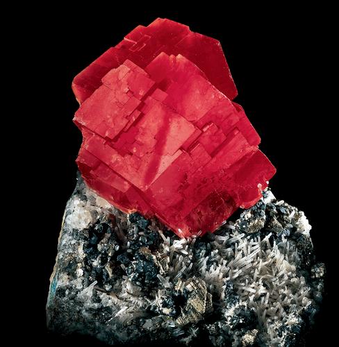 Pierres et cristaux – Rhodochrosite