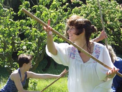 Stage bien-être et développement personnel: Stage de Bâton Libre en Corse le 9 juin