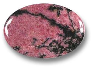 Se soigner avec les pierres et cristaux: Rhodonite