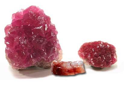 Bienfaits des minéraux-Calcite rouge