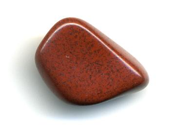 Pierres et cristaux – Jaspe rouge