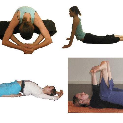 Yoga-Postures Yin pour stimuler les méridiens du Rein et de la Vessie.