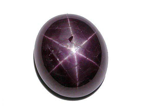 Pierres et cristaux-Rubis étoilé