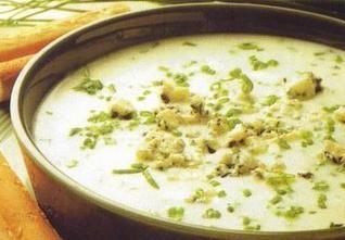 Recette végétarienne-Soupe de maïs épicée à la jamaïcaine