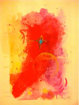 Vernissage de l'Exposition d'aquarelles de Loretta BELLOMI