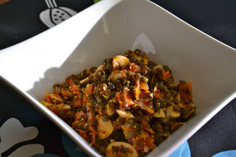 Recettes Lentilles Vertes Vegetarienne