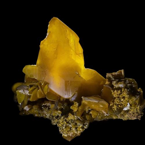 Minéraux-Wulfénite