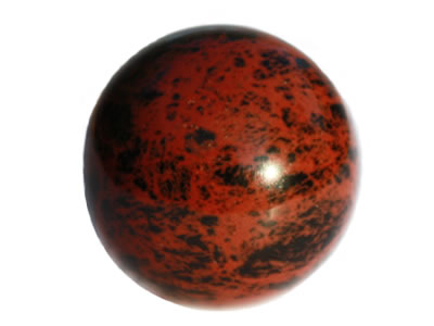 Bienfaits des minéraux-Obsidienne acajou