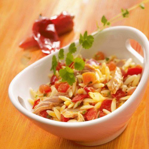 Recette végétarienne-Risonis aux courgettes