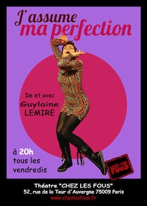 Spectacle-J'assume ma perfection-De et avec Guylaine Lemire