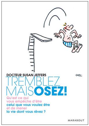 Livre de développement personnel-Tremblez mais osez de Susan Jeffers