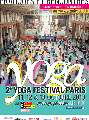 Yoga festival à Paris