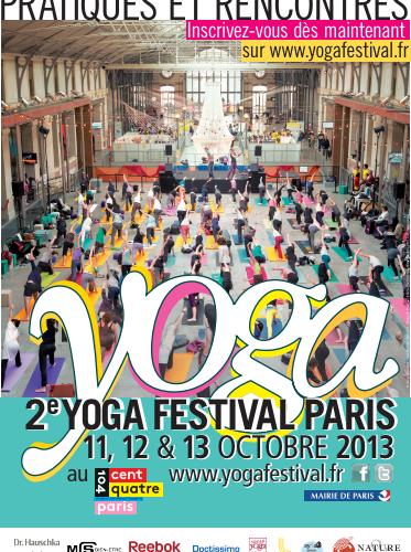 Yoga festival à Paris