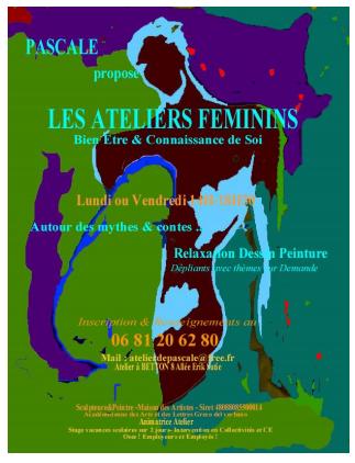 Stage de développement personnel avec Les ateliers féminins