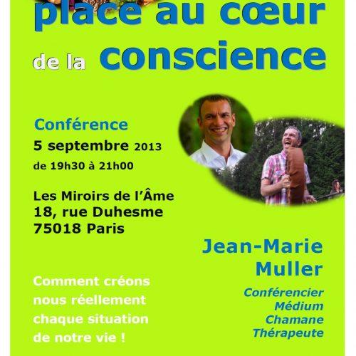 Conférence de Jean-Marie Muller