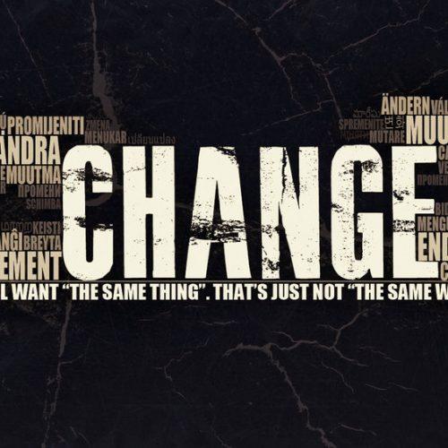 La volonté de changer