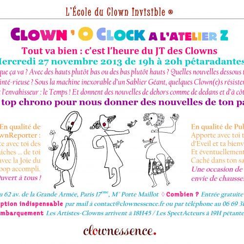 Scène Ouverte Clown o'Clock