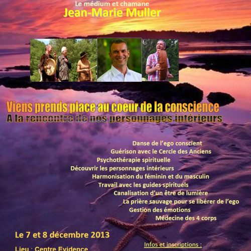 Stage avec Jean-Marie Muller – À la rencontre de nos personnages intérieurs