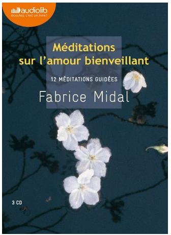 Livre de développement personnel-Méditations sur l'amour bienveillant de Fabrice Midal