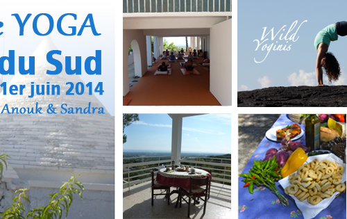 Retraite Yoga en Italie du sud du 25 mai au 1er juin 2014 avec @Sandra Insoha Yoga