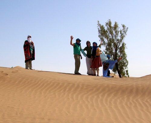 Voyage nomade retraite d'amour dans le Sahara