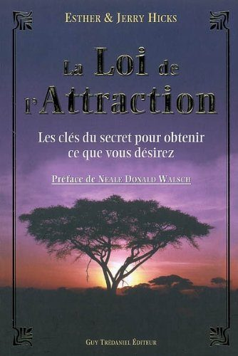 Livre de développement personnel-La Loi de l'Attraction de Esther Hicks