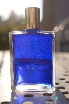 Aura-Soma : le bleu roi