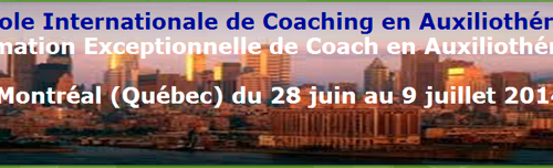 L'Ecole Internationale de Coaching en auxiliothérapie  à Montréal