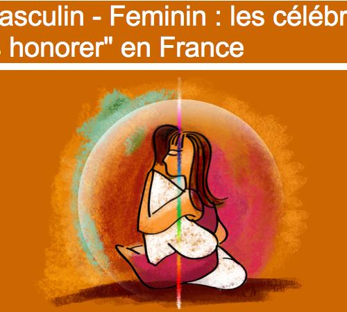 Masculin-Feminin,les célébrer,les honorer avec Diane Bellego