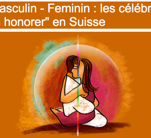 Masculin-Feminin-les célébrer, les honorer avec Diane Bellego en Suisse