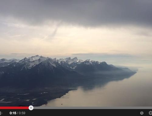 Méditation au Rochers de Naye en Suisse