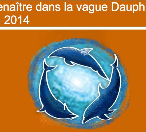 Renaître dans la vague Dauphin avec Diane Bellego en 2014