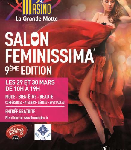 Salon Feminissima 29 et 30 mars Grande Motte