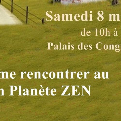 Alain Fournier-Conscience & évolution holistique de l'être-au salon Planète Zen