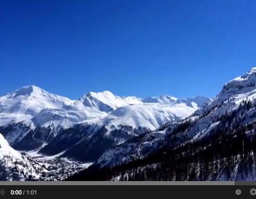 Méditation dans les alpes