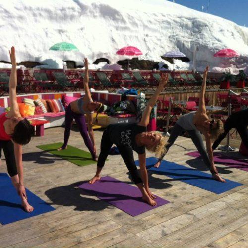 Yoga Festival à Val d'isère 2014